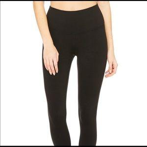 Alo black high waist airbrush leggings